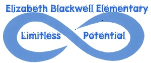 Elizabeth Blackwell Elementary: Limitless Potential in an infinity symbol